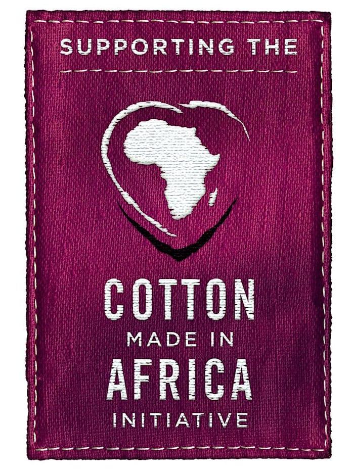 Shortama uit de 'Cotton made in Africa'-collectie
