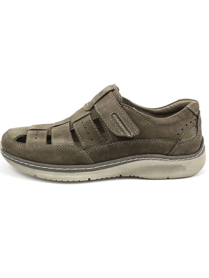Herren Sandale in grau