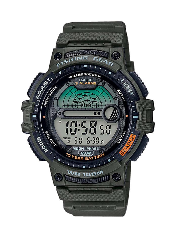 Casio Herren-Uhr Chronograph, Khaki