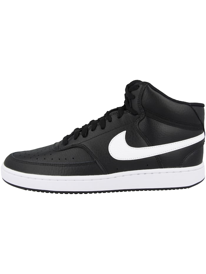 Nike Sneaker mid Court Vision Mid, schwarz