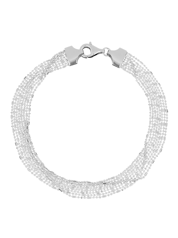 Grazielli Armband in Silber 925, Silberfarben