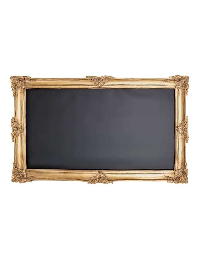 IMPRESSIONEN living Wand-Deko, Tafel, goldfarben/schwarz