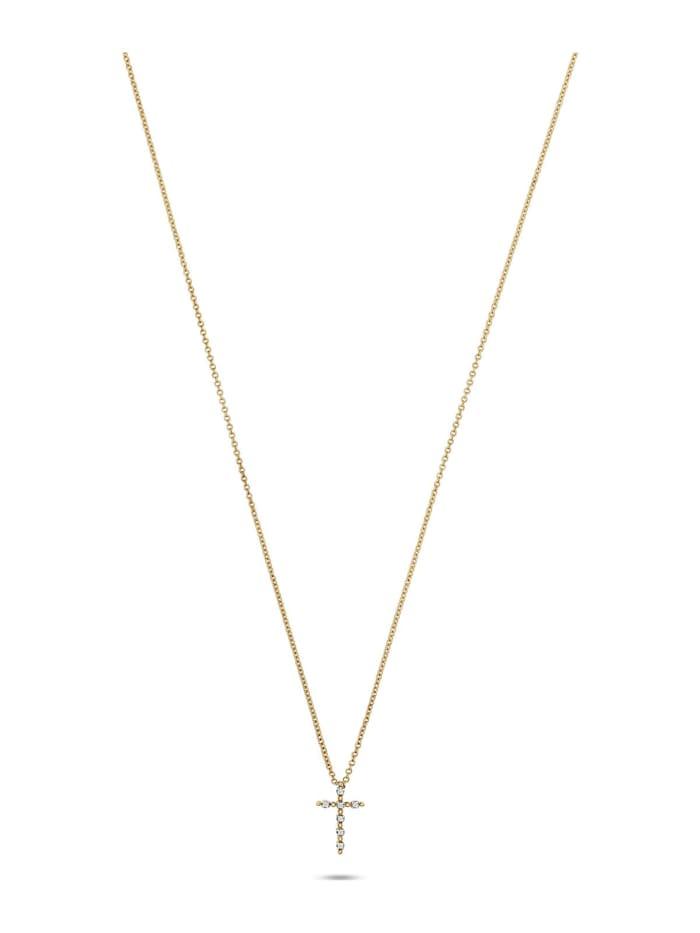 CHRIST Diamonds CHRIST Diamonds Damen-Kette 375er Gelbgold 7 Diamant, gelbgold