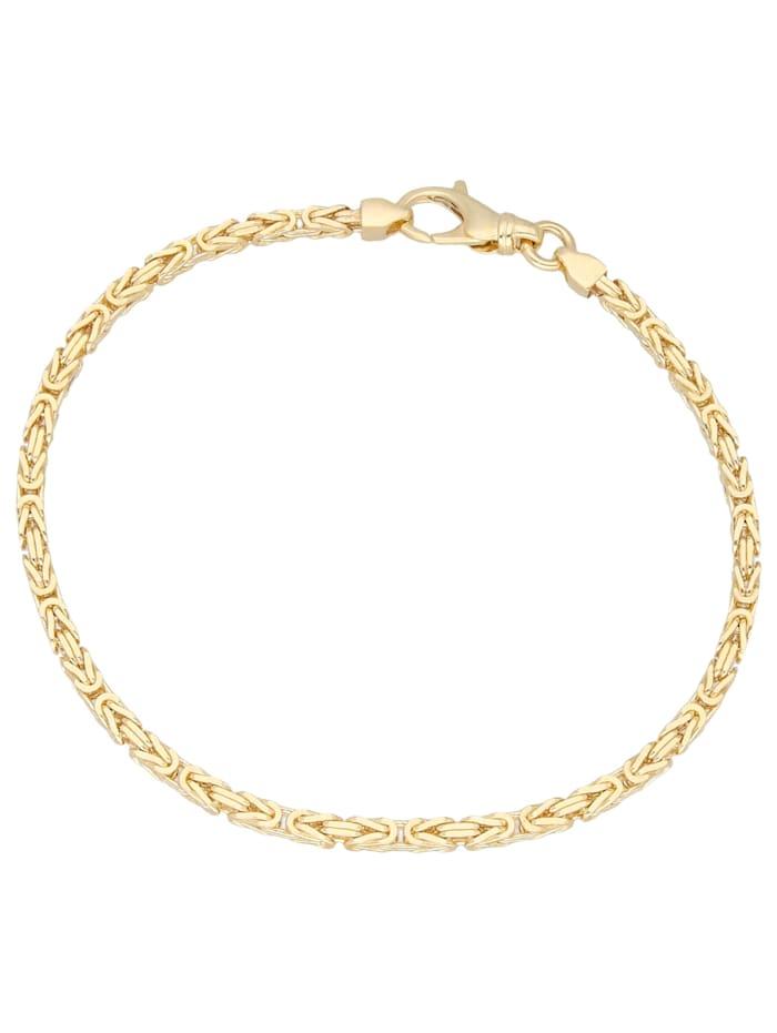 Luigi Merano Armband Armband, Königskette, Gold 375, Gold