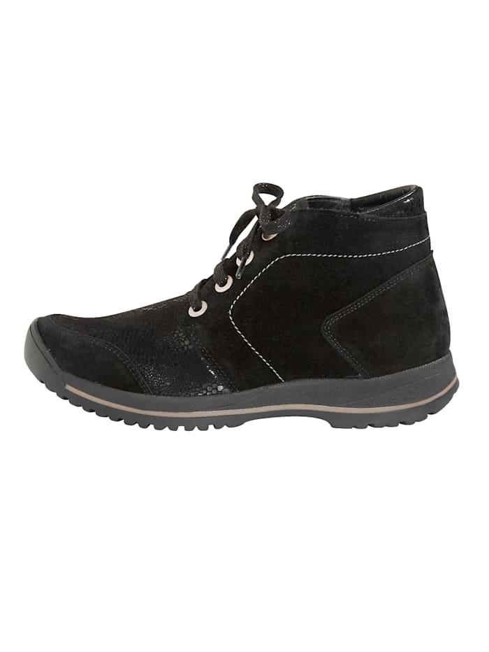 Boots lacées Idéales en cas de hallux valgus