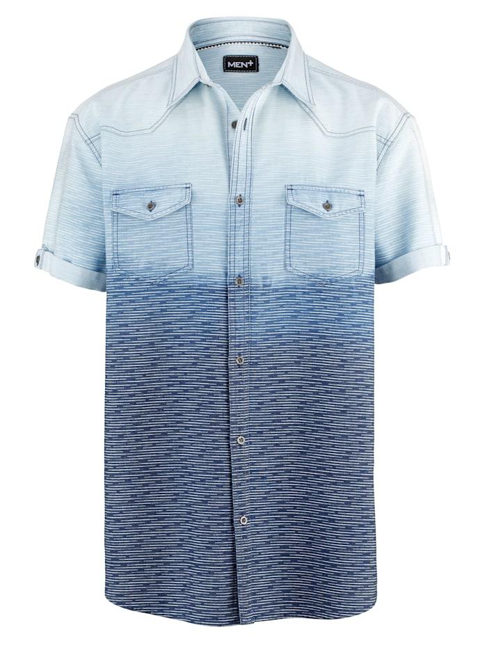 Kortermet skjorte i 100% bomull