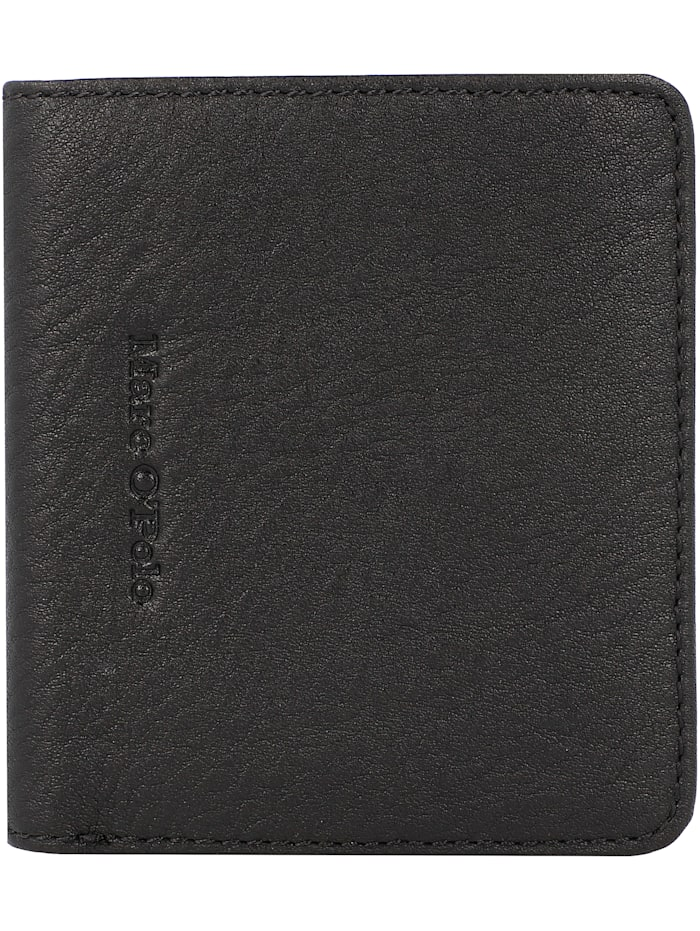 Marc O'Polo Taro Geldbörse Leder 9 cm, black