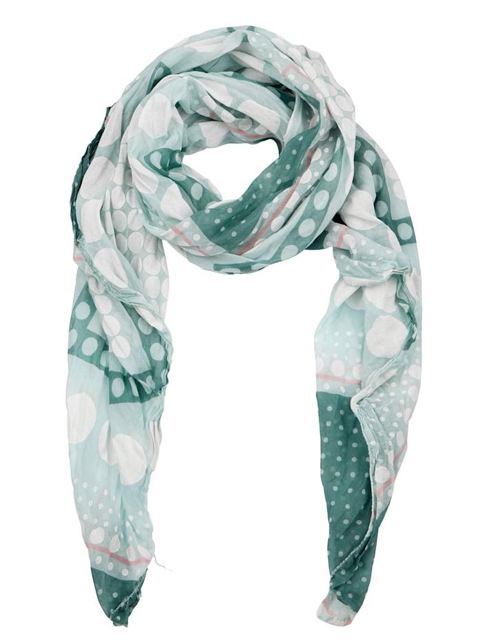 Sjaal met stippendessin