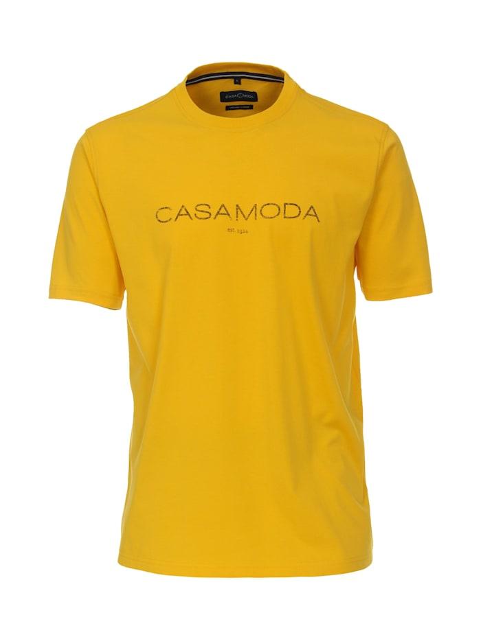 CASAMODA T-Shirt uni, Gelb