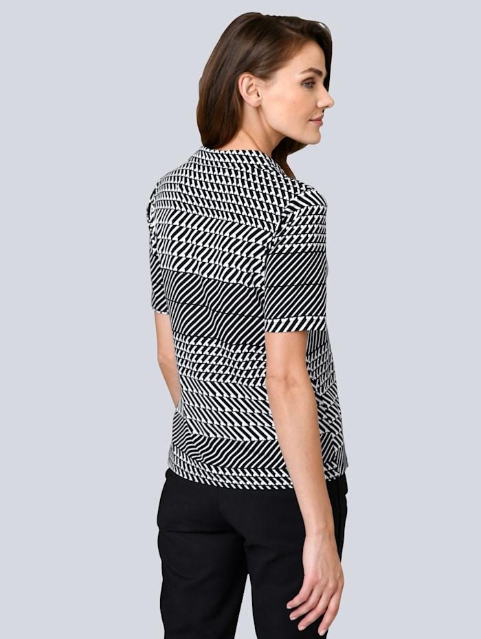 Druck-Shirt mit grafischem Print allover