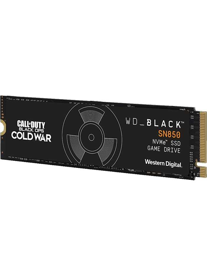 Western Digital SSD Black SN850 NVMe SSD 1 TB, Schwarz