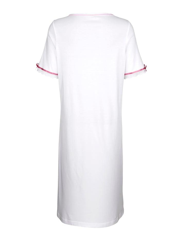 Nachthemd mit hübschen Satinschleifchen