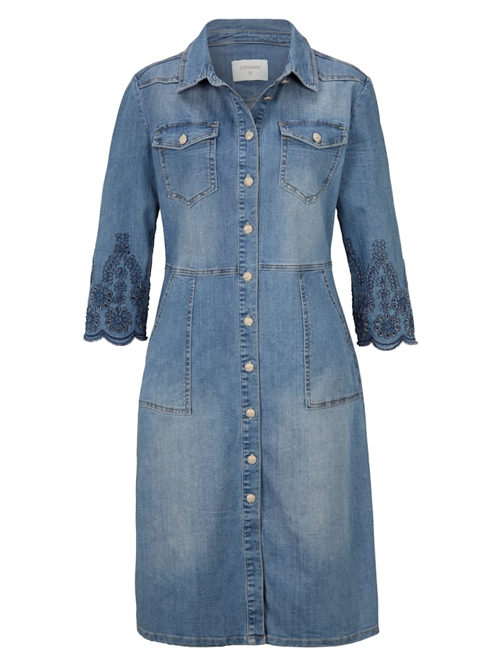 Cream Jeanskleid, Blau