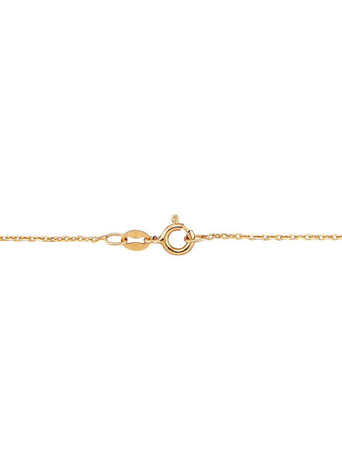 Halsband av guldfärgat silver 925