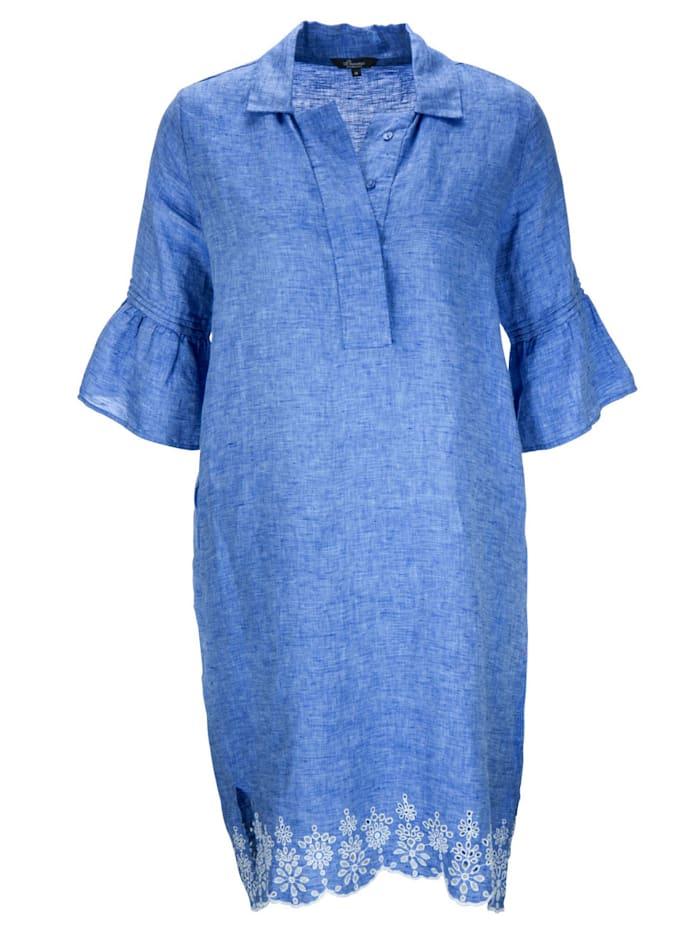 Kleid in Leinenqualität