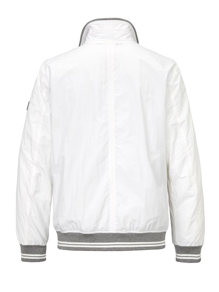 Blouson in college style