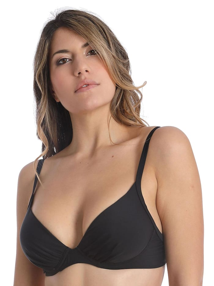 sassa Bikini-Top mit Schale BASIC BLACK, black