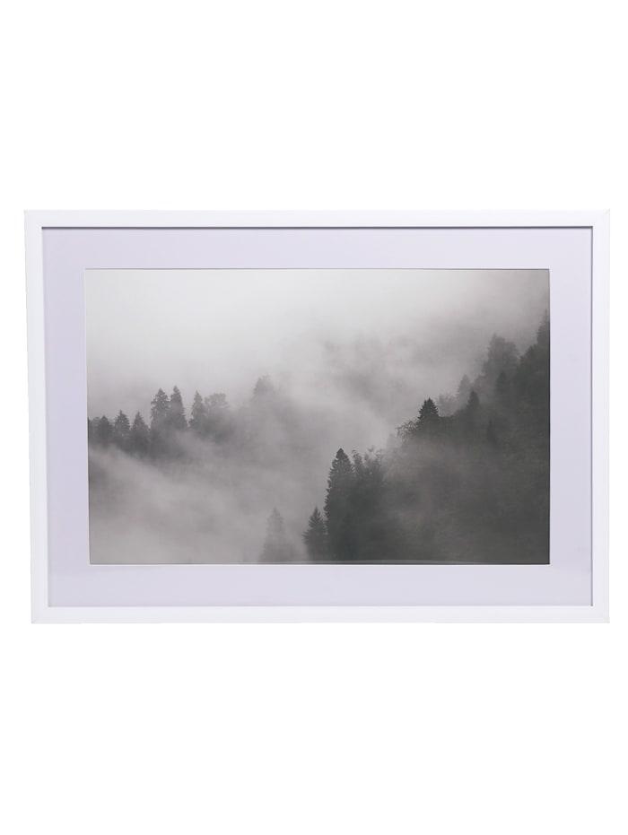 IMPRESSIONEN living Bild, grau/weiß
