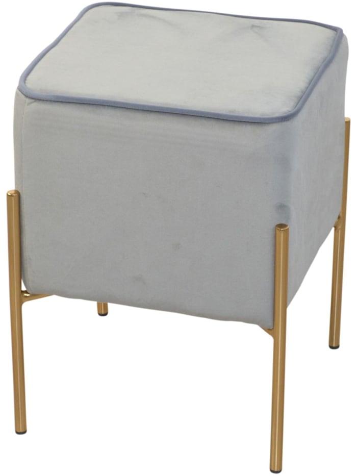 Möbel-Direkt-Online Sitzpouf Dany, grau