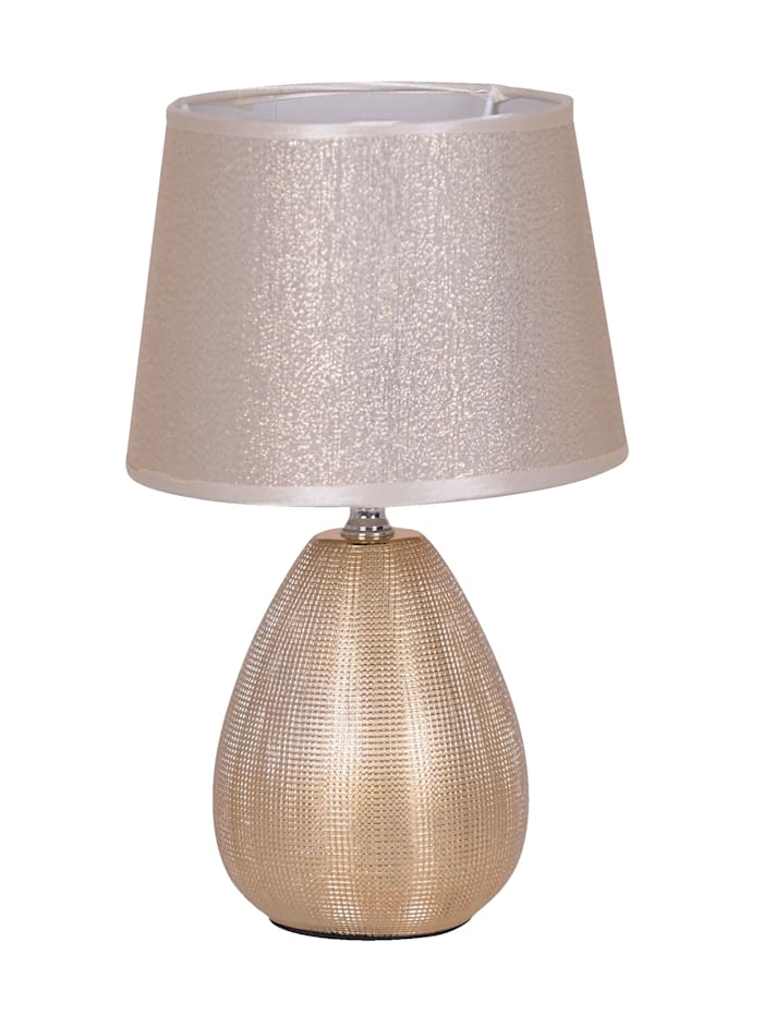 Näve Bordslampa – glow, Guldfärgad