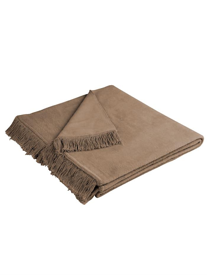 biederlack Meubelbeschermers Cover Cotton, Hazelnoot