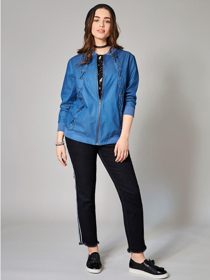 Jeans-Blouson