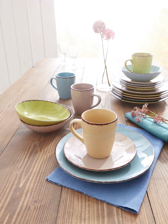 Middags- og kaffeservise  i 16 deler