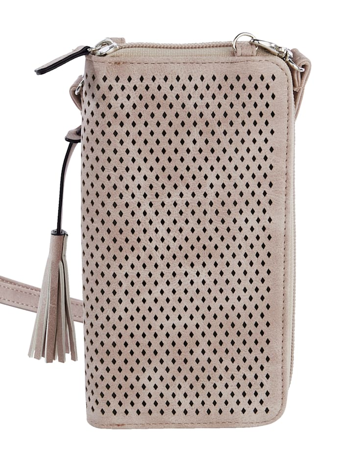 Phone bag with purse compartments