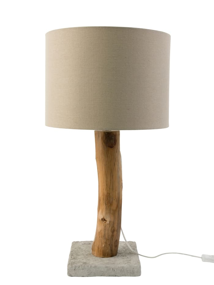 IMPRESSIONEN living Lampe de table, Naturel