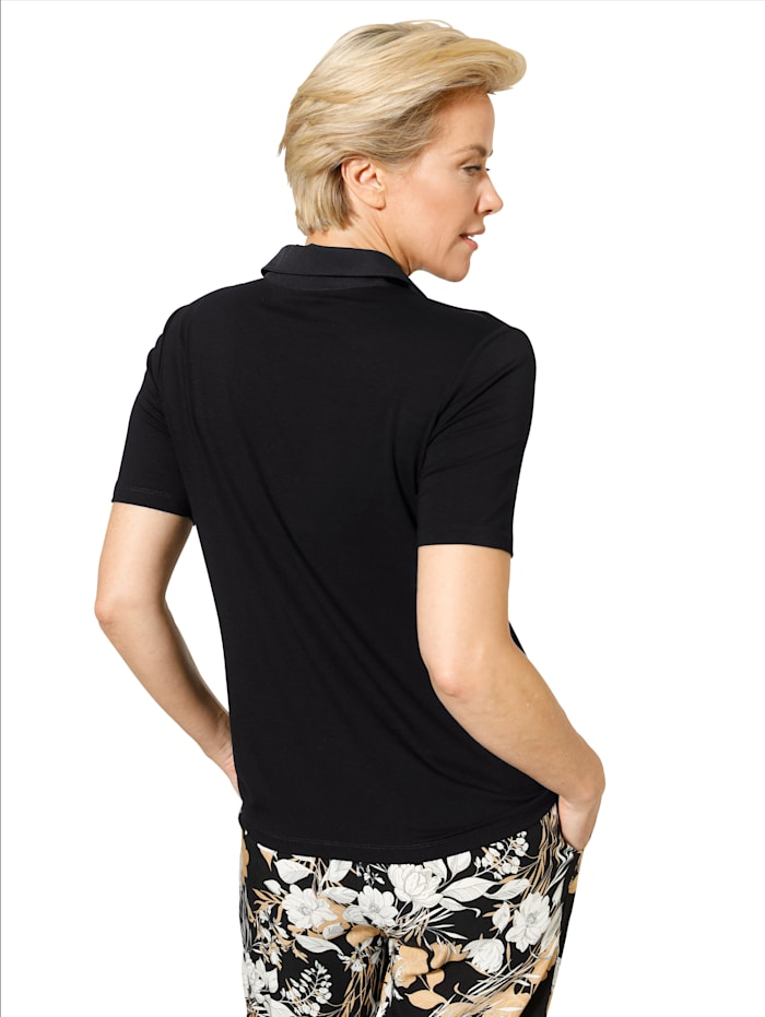 Shirt mit Reißverschluss-Taschen