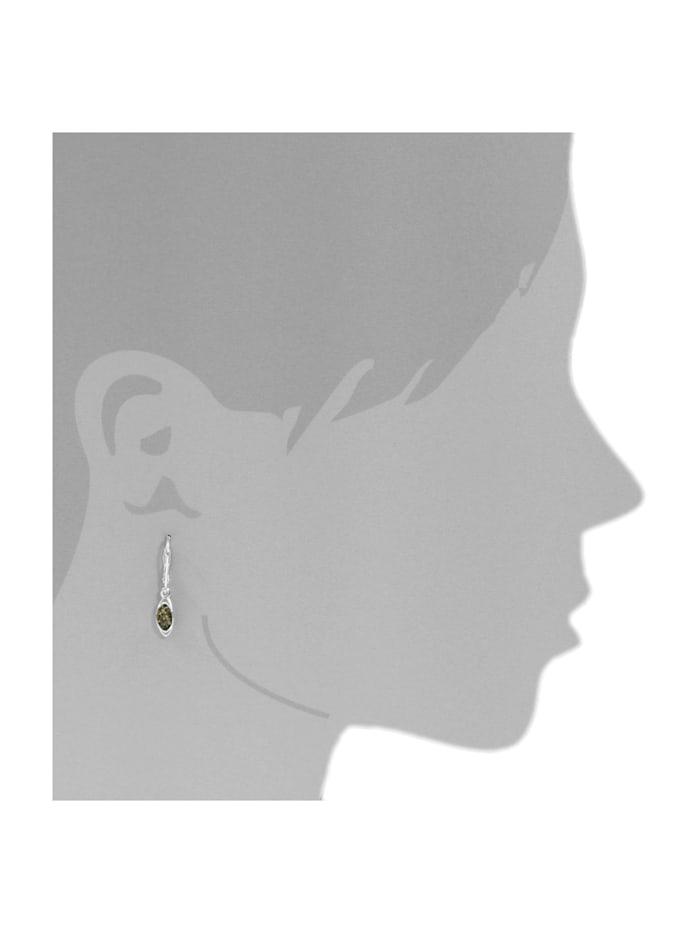 Ohrhänger - Telia - Silber 925/000 - Bernstein