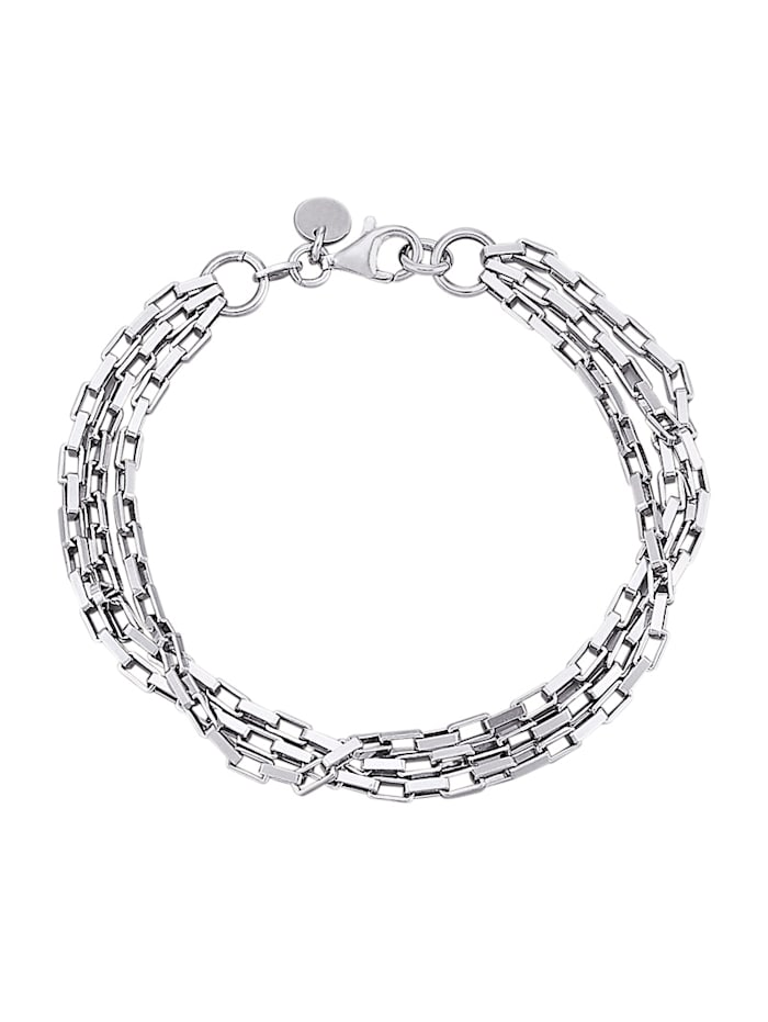 AMY VERMONT Armband av silver 925, Silverfärgad