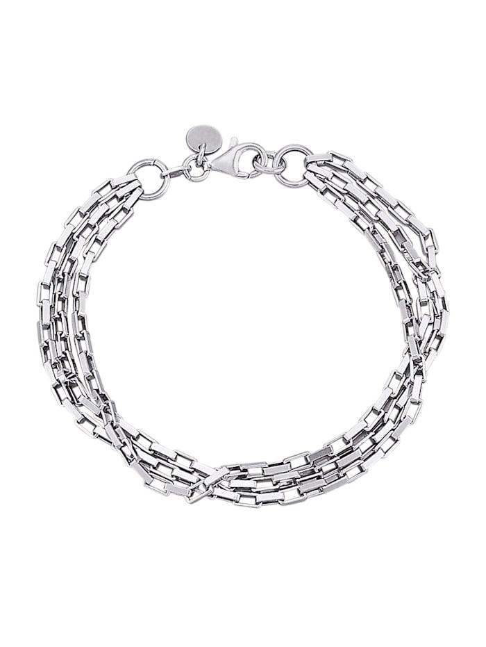 AMY VERMONT Armband van zilver, Zilverkleur