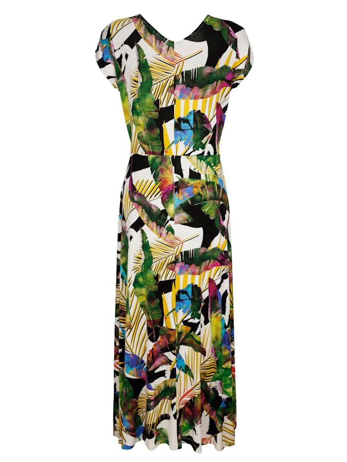 Strandjurk met multicolor dessin