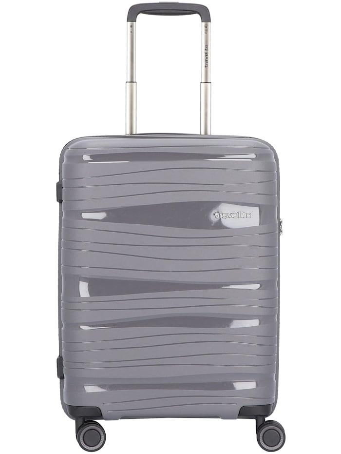 Travelite Motion 4-Rollen Kabinentrolley 55 cm, anthrazit