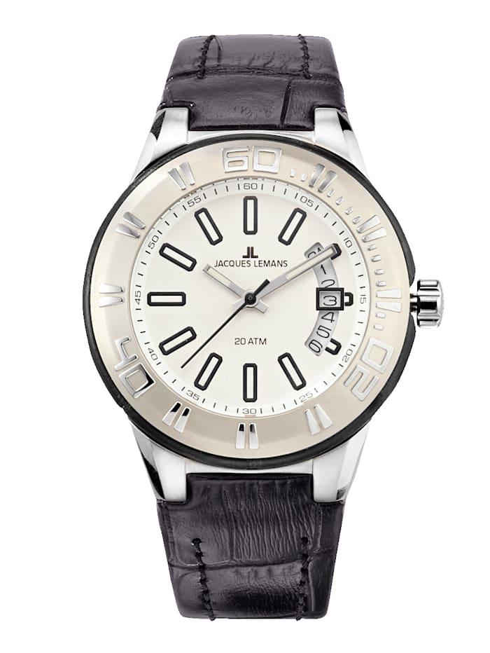 Jacques Lemans Dámske hodinky Séria Miami 1-1771B, Čierna