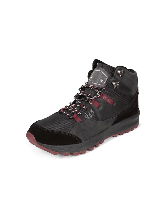 Camp David Hiking Sneaker mit griffiger Sohle, black