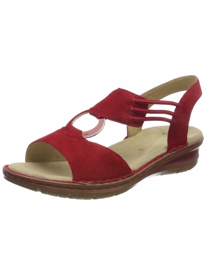 Ara Sandalen/Sandaletten, rot