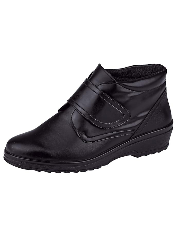Naturläufer Velcro Ankle boots in an elegant design, Black