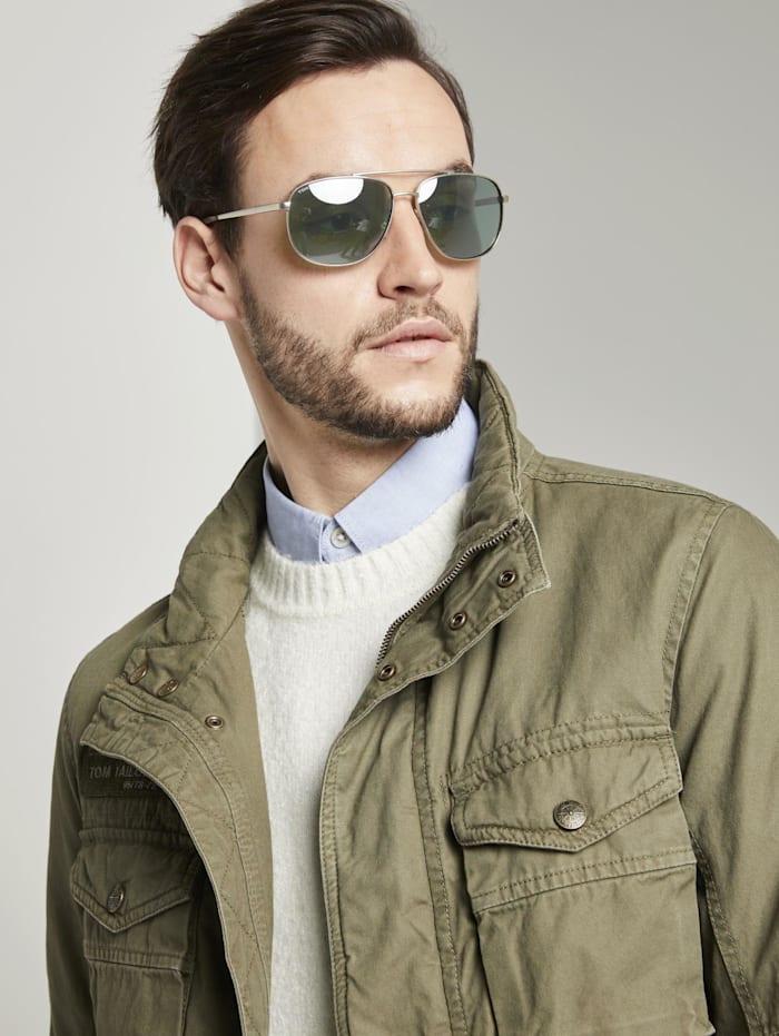 Tom Tailor Pilotenbrille mit getönten Gläsern, gold frosted gold