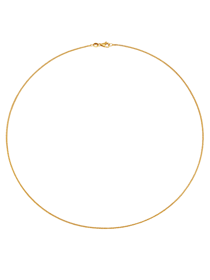 Diemer Gold Zopfkette in Gelbgold 585, Gelb
