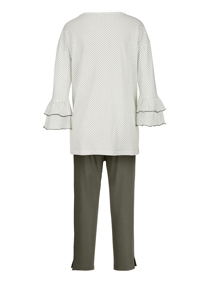 Pyjamas Fashionable flared sleeves
