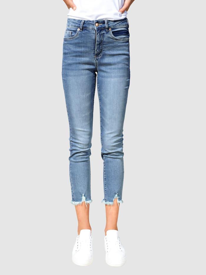 Dress In Jeans in Sabine Extra Slim model, Blue stone