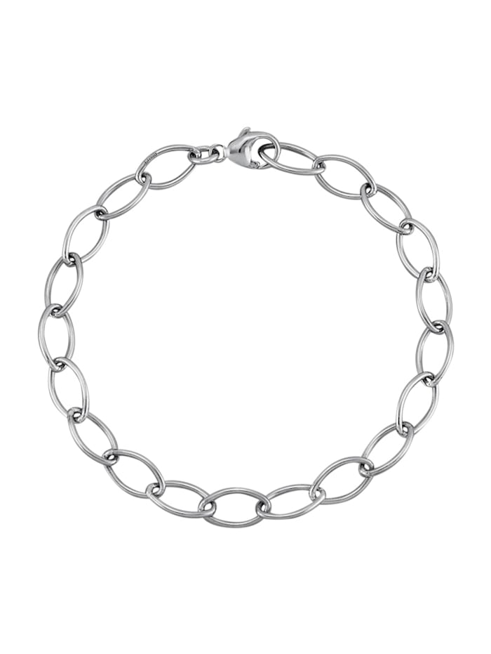 Diemer Platin Armband van platina, Zilverkleur