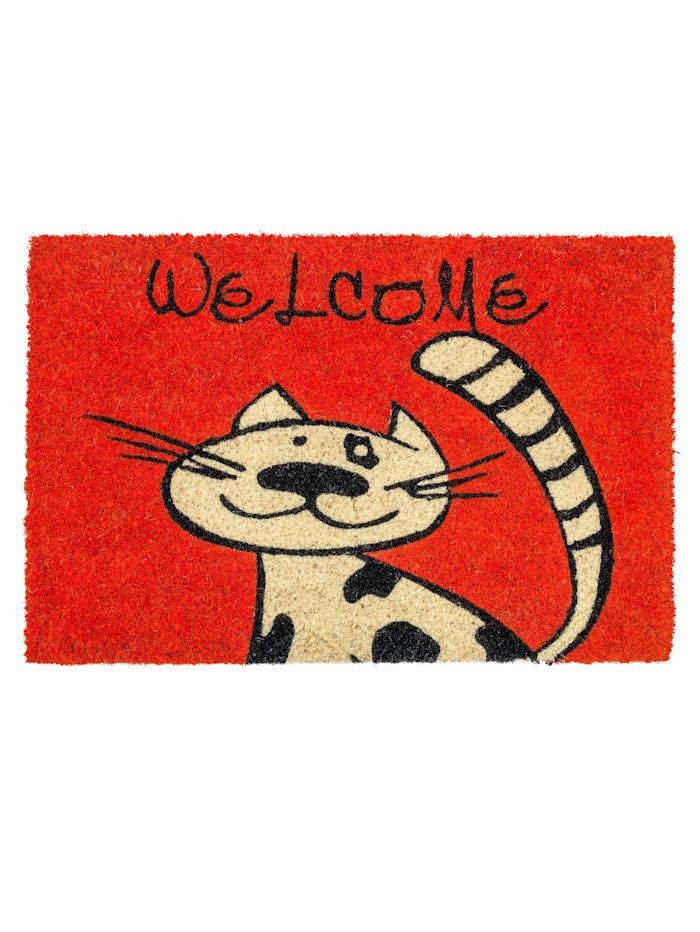 Astra Schmutzfangmatte Katze, Rot