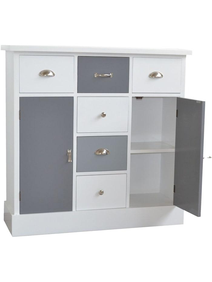 Möbel-Direkt-Online Kommode Silke, weiß