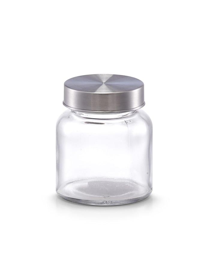 Neuetischkultur Vorratsglas mit Metalldeckel Mini, Transparent
