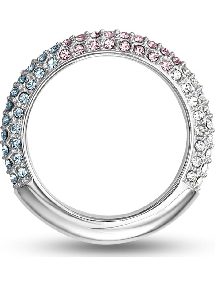 Jette JETTE Damen-Damenring 925er Silber 34 Kristall, silber