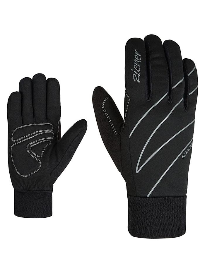 Ziener UNICA lady glove crosscountry, Black