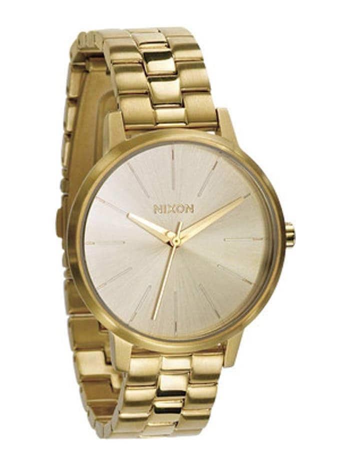 Nixon Nixon Damen-Uhren Analog Quarz, gold